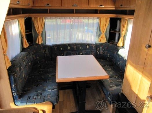 Hobby 450 US, r.v2003 + MOVER + před stan plná