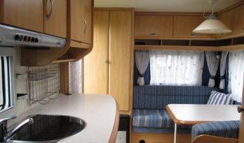 Hobby 440 SF, r.v.2004 + před stan + nosič kol plná