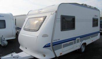 Hobby 450 UF, r.v2005 + kompletní před stan + markýza + nosič kol plná