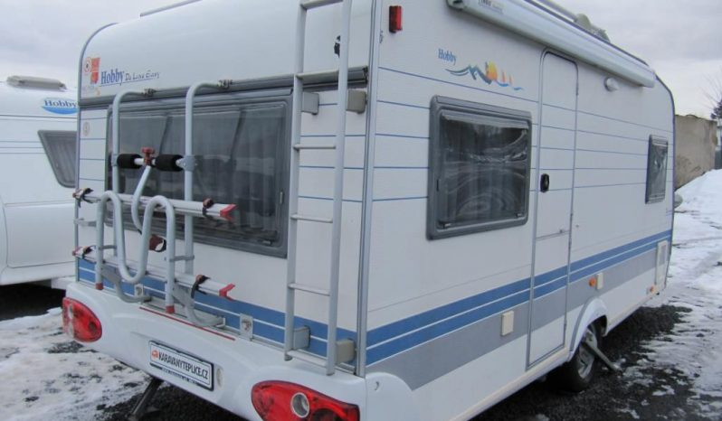 Hobby 460 UFE, r.v.2002 + plně automelpojezd TRUMA + markýza THULE + zadní nosič kol plná