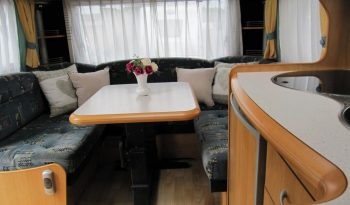 Hobby 460 UFE, r.v.2004 + automatická klimatizace + před stan plná