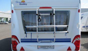 Hobby 460 UFE, r.v.2007 + mover + před stan plná