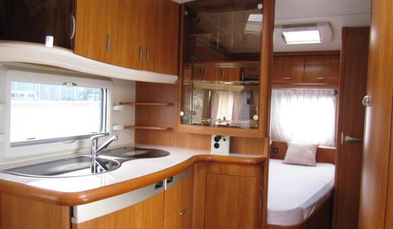 Hobby 460 UFE, r.v.2007 + mover + před stan+ zadní nosič kol plná