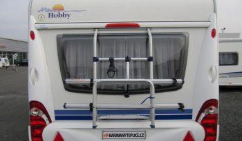 Hobby Excellent 495 UL, r.v.2008 + mover + před stan plná