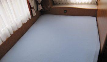 Hobby 540 UFE, r.v.2008 + mover + lehký stan + zadní nosič kol plná