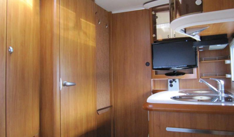 Hobby 540 UFF, r.v.2008 + mover + před stan plná
