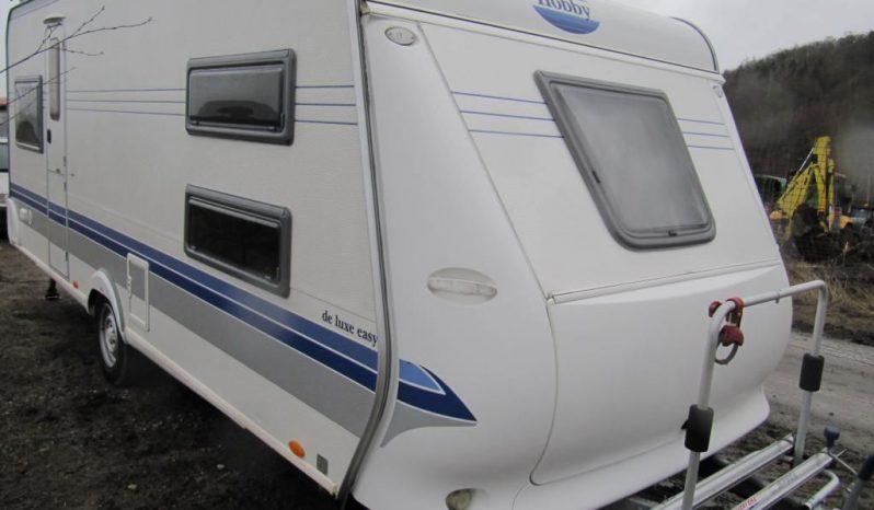Hobby 540 UK, r.v.2006 + kompletní před stan + přední a zadní nosič kol plná