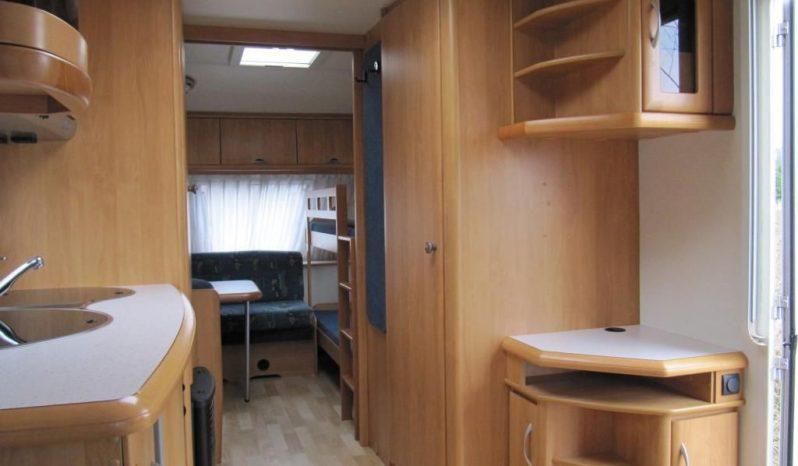 Hobby 540 UK, r.v.2004 + mover + před stan plná