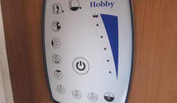 Hobby 540 UL, model 2010 + mover + před stan plná