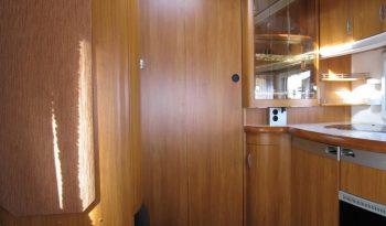 Hobby 540 WLU, model 2008 + mover + před stan plná