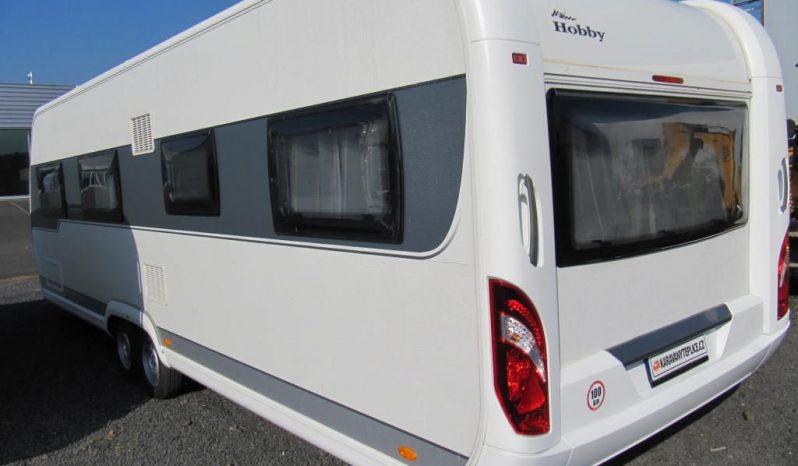 Hobby Prestige 720 UKFE, r.v.2014 + markýza 4m plná
