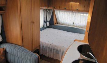 Hobby 400 SF, r.v.2006 + před stan + nosič kol plná