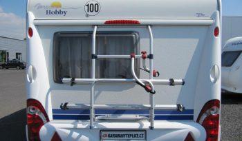 Hobby 440 SF, model 2008 + mover + před stan plná