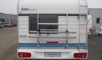 Hobby 495 FUE, r.v.2000 + mover + před stan plná