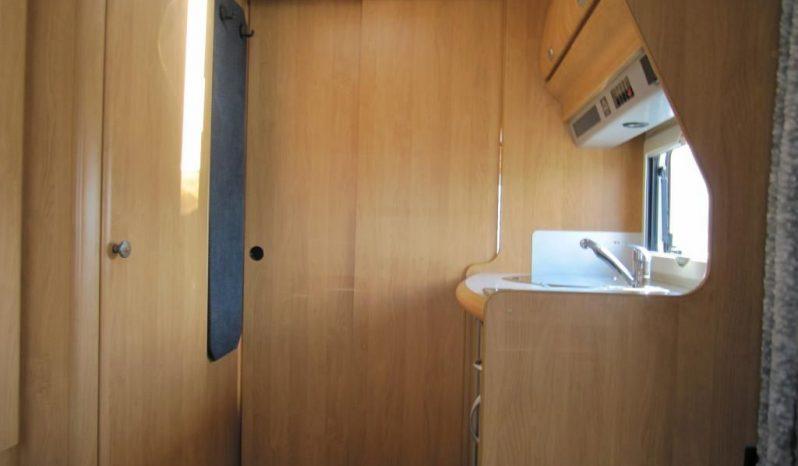 Hobby 495 UF, r.v.2002 + před stan + nosič kol plná