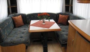 Hobby 495 UFE, r.v.2003 + před stan + nosič kol plná