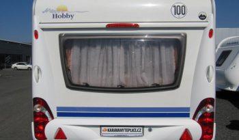 Hobby 495 UFE, r.v.2009 + mover + markýza. plná