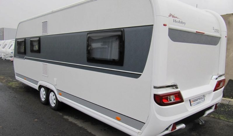 Hobby Prestige 650 KFU, r.v.2020, nový nepoužitý, nová krycí plachta na karavan plná