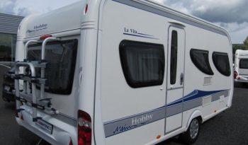 Hobby 455 SF, model 2010 + mover + nosič kol plná